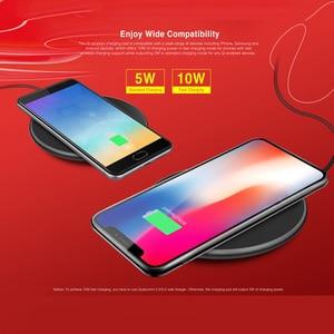 Image 5 - Ulefone UF002 Draadloze Oplader 10W Snel Opladen Qi Draadloze Oplader Pad Voor Huawei P30 Pro/Ulefone Armor 6 s/Andere Smartphones