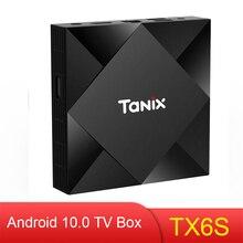 Tanix TX6S Tanix Android 10.0 TV Box Allwinner H616 4GB 64GB