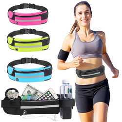 2020 New Sports Bag Running Waist Bag Pocket Jogging Portable Waterproof Cycling Bum Bag Outdoor Phone Anti-theft Pack Belt Bags