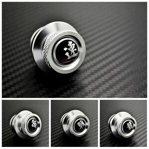 Silver Aluminum Adornment Car