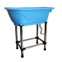 Pet Bathtub Large Pet Products Non slip Bath Tub Stainless Steel Easy Install Accesorios Perro Dog Pool Mascotas Cheap