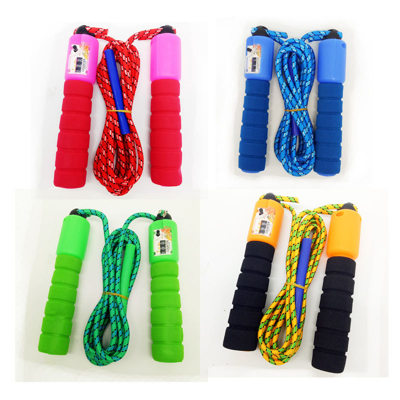 Manufacturers Direct Selling Count Jump Rope High Quality Jump Rope Teaching For Jump Rope Can Be Mixed Batch Large Amount Favor