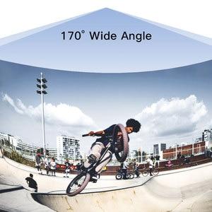 Image 5 - Ultra HD 4K 170D עמיד למים ספורט פעולה מצלמה עם EIS המובנה בתפקוד WiFi מרחוק בקר וידאו שיא מצלמה אבזר