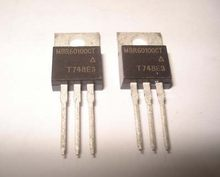 5pcs MBR60100CT TO220 MBR60100 TO-220 60100CT V60100C 60A 100V