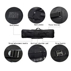 Image 5 - 94 Cm Tactical Gun Carry Schouder Rugzak Jacht Airsoft Paintball Rifle Case Nylon Zware Sport Bag
