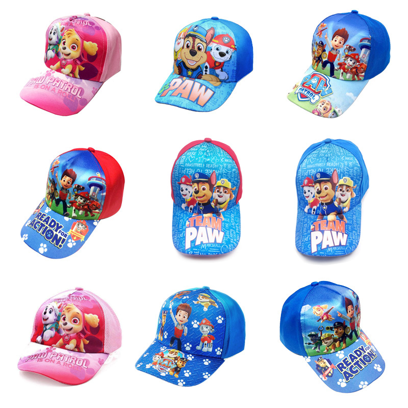 Paw Patrol Hat Puppy Patrol Sunhat Breathable Summer Baseball Cap Lovely 3-10 Years Patrulla Canina Anime Action Figures Gift