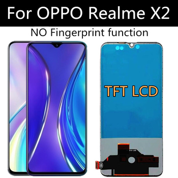 """TFT LCD For OPPO realme X2 EMX1991 LCD Display Touch Screen Digitizer Assembly Replacement For phone 6.4"""" 1"""