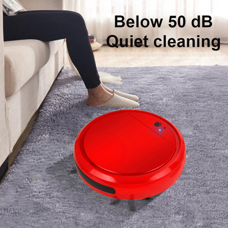 Household Ultra-Thin Sweeper Lazy Smart Vacuum Cleaner Appliance Cleaning Sweeping Machine Drag Sweep Suction
