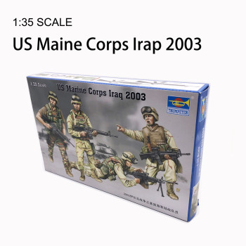 1:35 US Marine Corps Iraq 2003 Military 1/35 Military Assembly Model Trumpeter 00407 trumpeter 02263 1 32 p 47d thunderbolt bubbletop