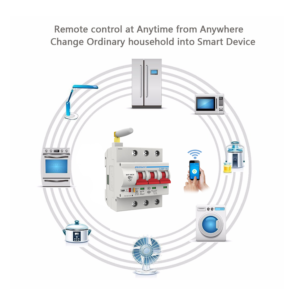 3p wi fi inteligente disjuntor interruptor automatico de 03