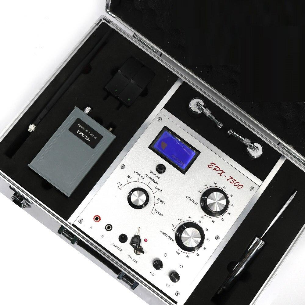 3D Metal Detector Treasure Hunter Locator Scanner Long Rang Industrial Metal Detectors For Gold Silver Copper Precious Stones