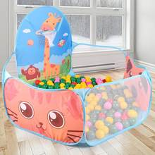 Manege for the baby Children Baby Boys Girls Ocean Ball Pit Pool Game arena Play Tent with Basketball Hoop a playpen Outdoor(China)