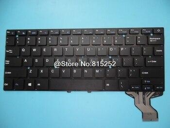 Клавиатура для ноутбука AIWO I8 I4 737A2 737A1 737A на английском языке US без рамки черная новая