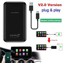 Carplay Adapter Carlinkit Wireless Smart Link Apple CarPlay Für Auto Navigation Player USB Verbinden Modul Adapte iPhone Android