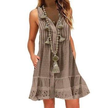 fun fling dress, great buttun down style 1