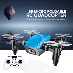 S9HW мини-Дрон с камерой S9 без камеры RC Квадрокоптер складной дроны удержание высоты RC Квадрокоптер WiFi FPV Карманный Дрон VS CX10W