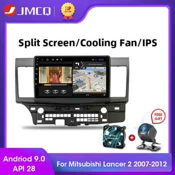 JMCQ Android 9.0 T3L PLUS for For Mitsubishi Lancer 2007-2012 Car Radio Multimidia Video Player Navigation GPS 2+32G 2din 2 Din vtopek 2din 2 32g 4g net wifi car multimedia player for mitsubishi lancer 2007 2012 navigation gps auto android radio 2 din dvd