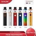 Оригинальная ручка SMOK Vape, 22 комплекта, с аккумулятором 1650 мАч и 2 мл, крышка на бак, наполнение электронной сигареты, набор ручек, испаритель vs...