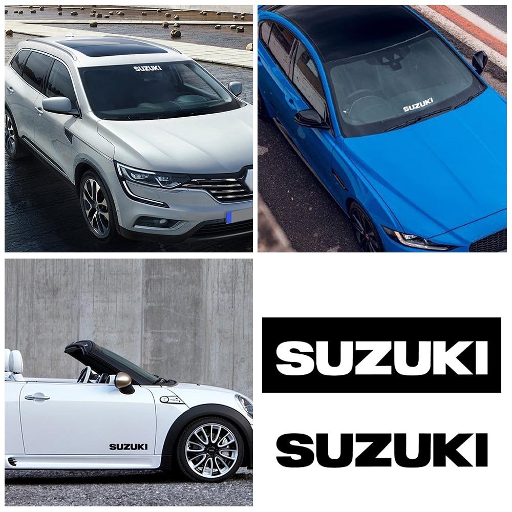 2pcs/set Car Windscreen Sticker Rear Window Bumper Decal Car Vinyl Sticker For Suzuki Jimny SWIFT VITARA SX4 Car Styling