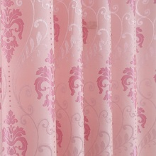 Jacquard European Style Curtain Cationic Shade Cloth Living Room Bedroom Balcony Curtain wholesale high precision european style jacquard curtain fabric for living room bedroom blackout thermal insulation curtain