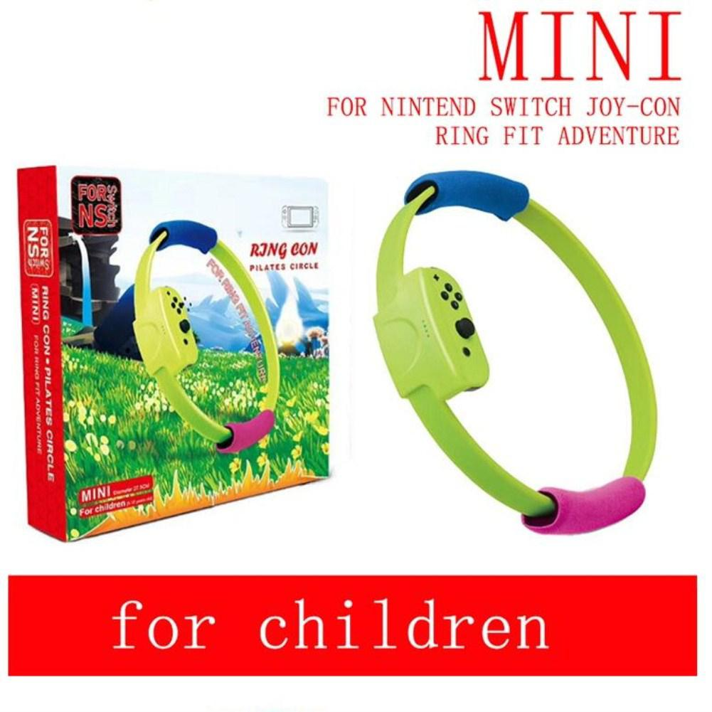 Mini Switch Motion Sensing Game Accessories Fitness Ring + Leg Band Set For Nintend Switch Joy-con Ring Fit Adventure Game