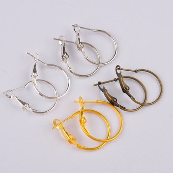 500pcs small hoop earring findings round circle ring earrings jewelry findings accessories