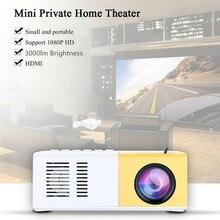 J9 мини-проектор 1080P HD проектор ультра портативные проекторы US Plug EU/AU/US Plug Pico проектор Поддержка сотового телефона