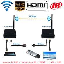 100M Wireless HDMI Extender 2.4G Hz/5G Hz Wifi 1080P HDMI 1.3 Audio Video Pengirim Transmitter Receiver dengan IR Dukungan HDCP1.2 HDTV(China)