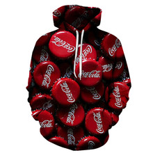 3D Hoodie Mens New Fashion Print Casual Men and Women Autumn Winter Sweatshirt Street Jacket