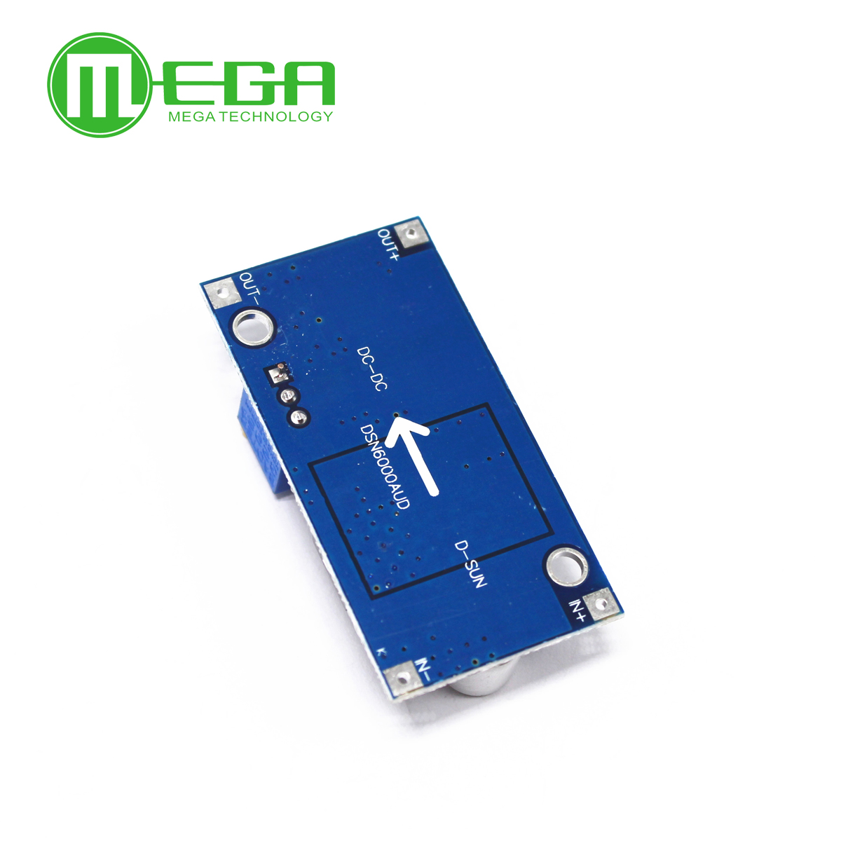 Image 2 - 10pcs Boost Buck DC DC Adjustable Step Up Down Converter XL6009 Power Supply Module  5 32V to 1.2 35V-in Integrated Circuits from Electronic Components & Supplies