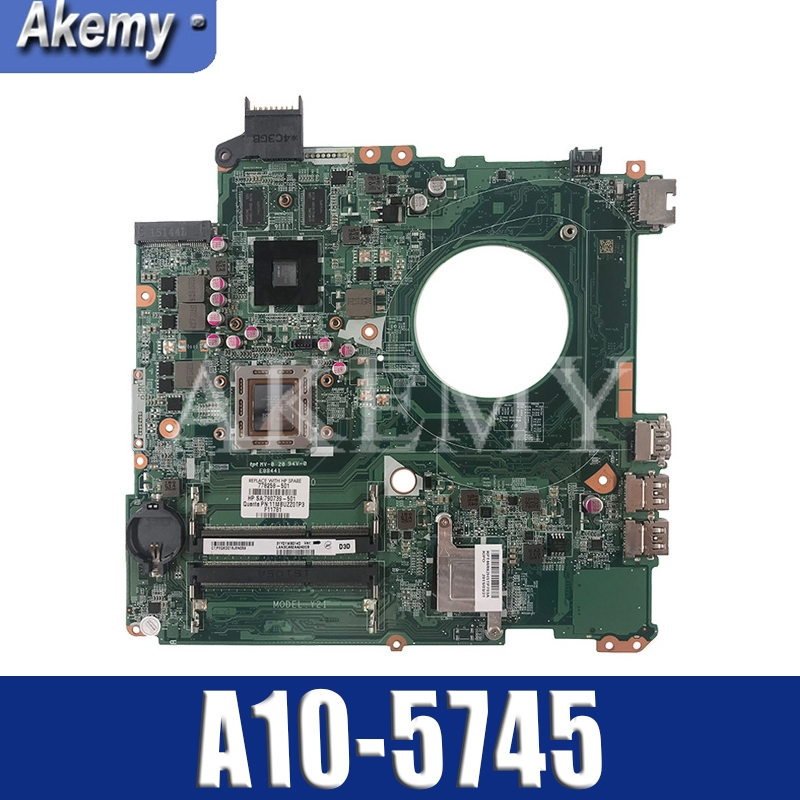 REV:D Laptop Motherboard FOR HP PAVILION 17-F Series Mainboard Notbook PC A10-5745 CAN FIT DAY23AMB6F0 REV:F