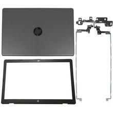 Новая задняя крышка для ЖК дисплея ноутбука/Передняя панель ЖК дисплея/Петли для HP 17 BS 17 AK 17 BR Series 933298 001 926489 001 933293 001 926482 001