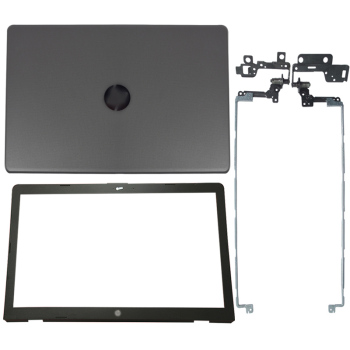 NEW Laptop LCD Back Cover/LCD Front bezel/LCD Hinges For HP 17-BS 17-AK 17-BR Series 933298-001 926489-001 933293-001 926482-001 new laptop lcd top cover lcd front bezel for dell tobii alienware 17 r4 0pn5xv 05gvp2 a and b shell