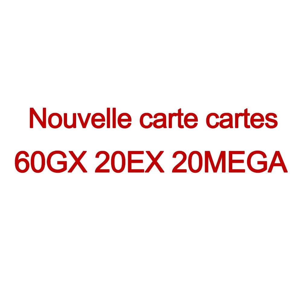 TOMY 100 200 шт GX Мега Сияющие карты игры битва карт торговые карты игры Детские игрушки - Цвет: 60GX 20EX 20MEGA