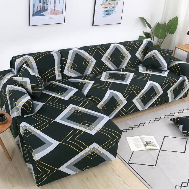 Купить накидки для углового дивана l образной формы эластичные секционные картинки цена