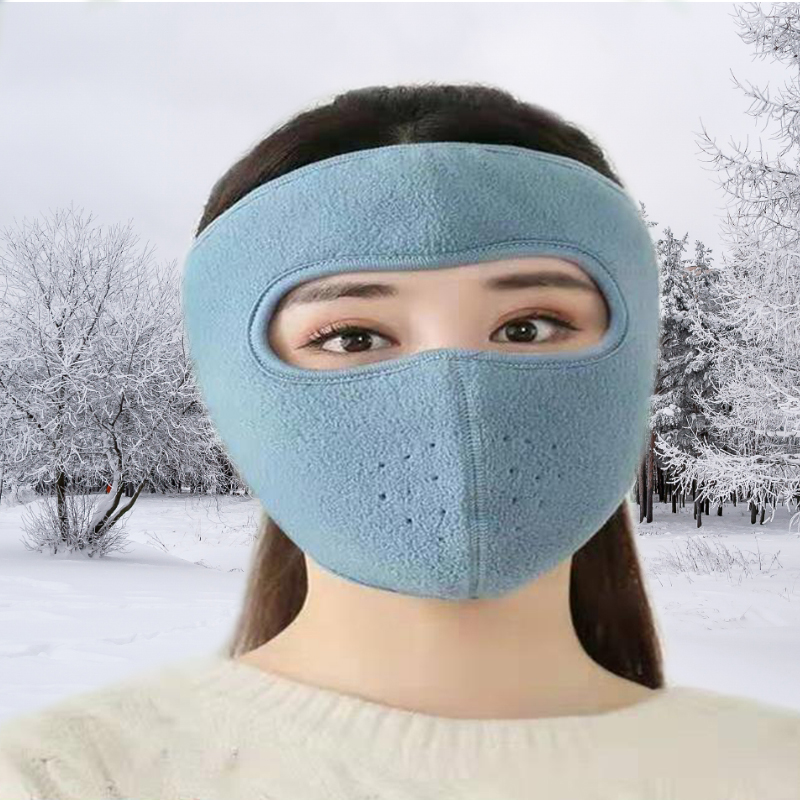 Winter New Ear Protector Forehead Mask Men And Women Cycling Outdoor Windproof Cold Breathable Warm Mask Unisex