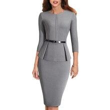 Bodycon Business EB473 Dress