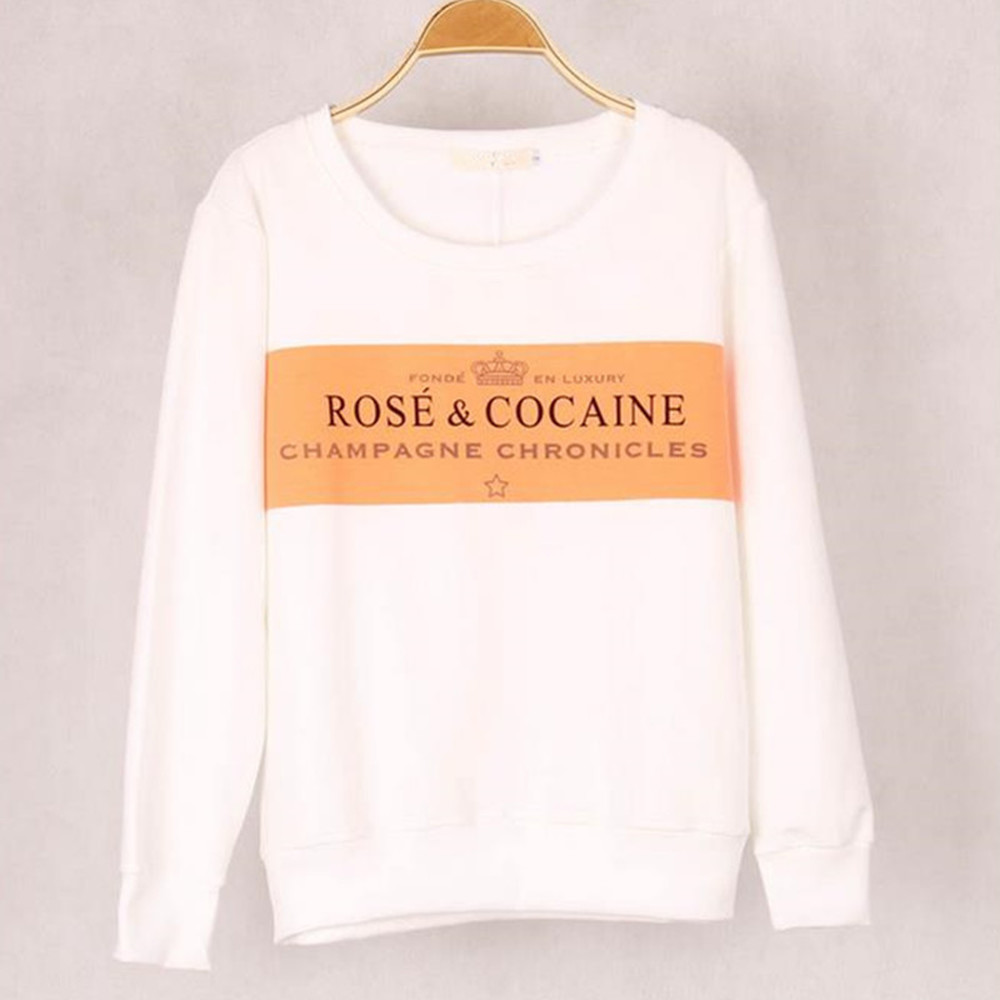 Free Shipping 2020 New Winter Fashion European And American Big Yards With Personalized Letters Printed  Women   S/M/L/XL