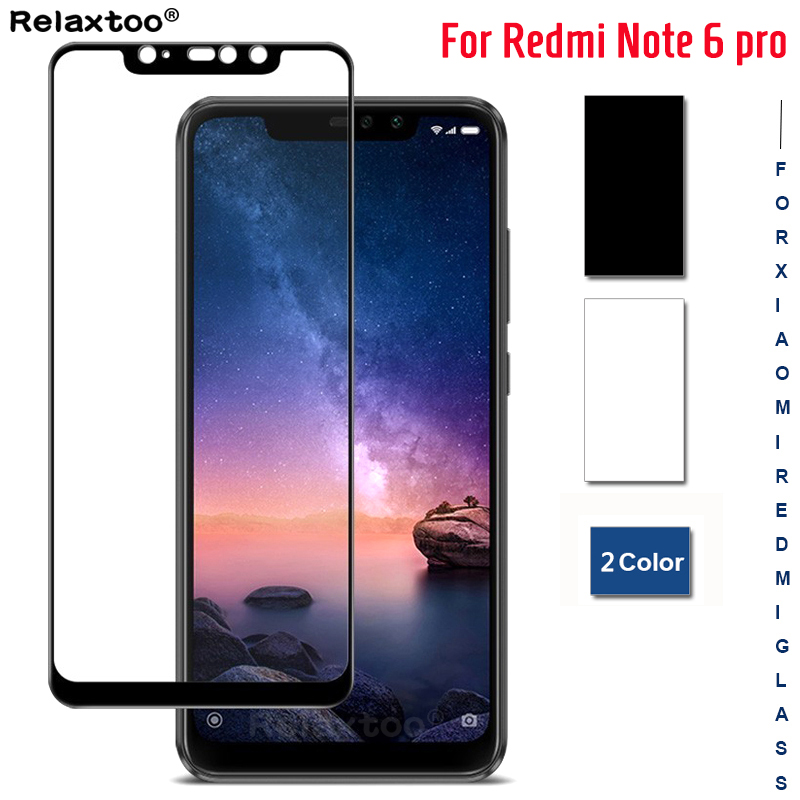 For Xiaomi Redmi Note 6 Pro Glass Screen Protector Armor Tempered Glass For Xiaomi Redmi Note 8 Pro Note7 Global Protective Film