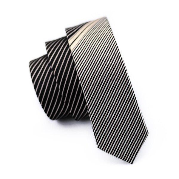 5,5 см Модный тонкий галстук золотого и оранжевого цветов, Шелковый жаккардовый галстук для мужчин, свадебные, вечерние, повседневные, Прямая поставка - Цвет: HH-211