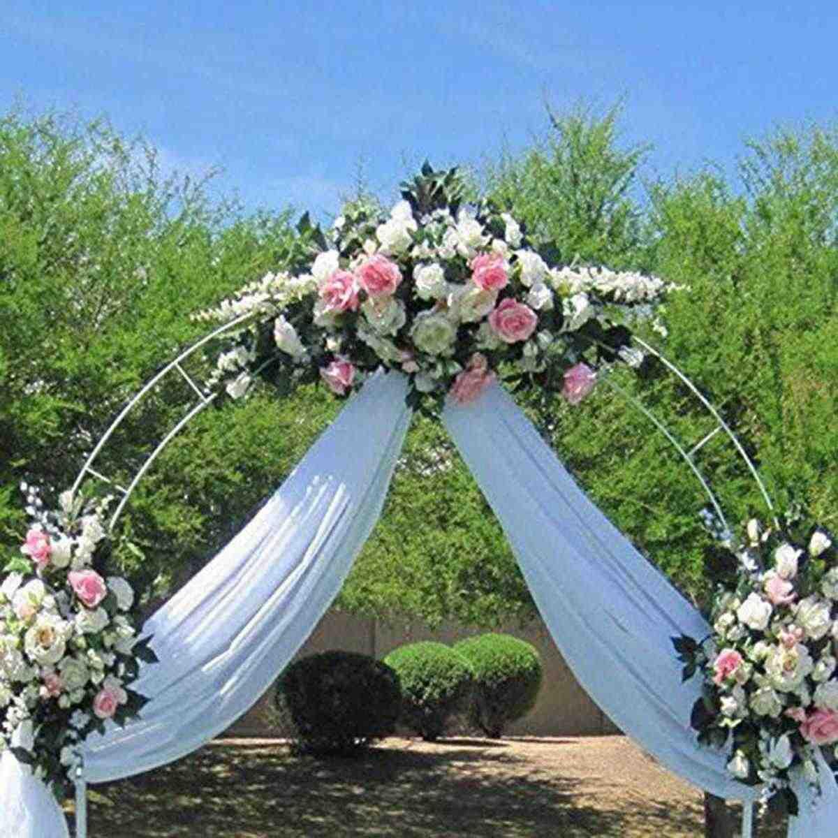 DIY Wedding Arch Decorative Garden Backdrop Pergola Stand Flower Frame For Marriage birthday wedding Party Decoration