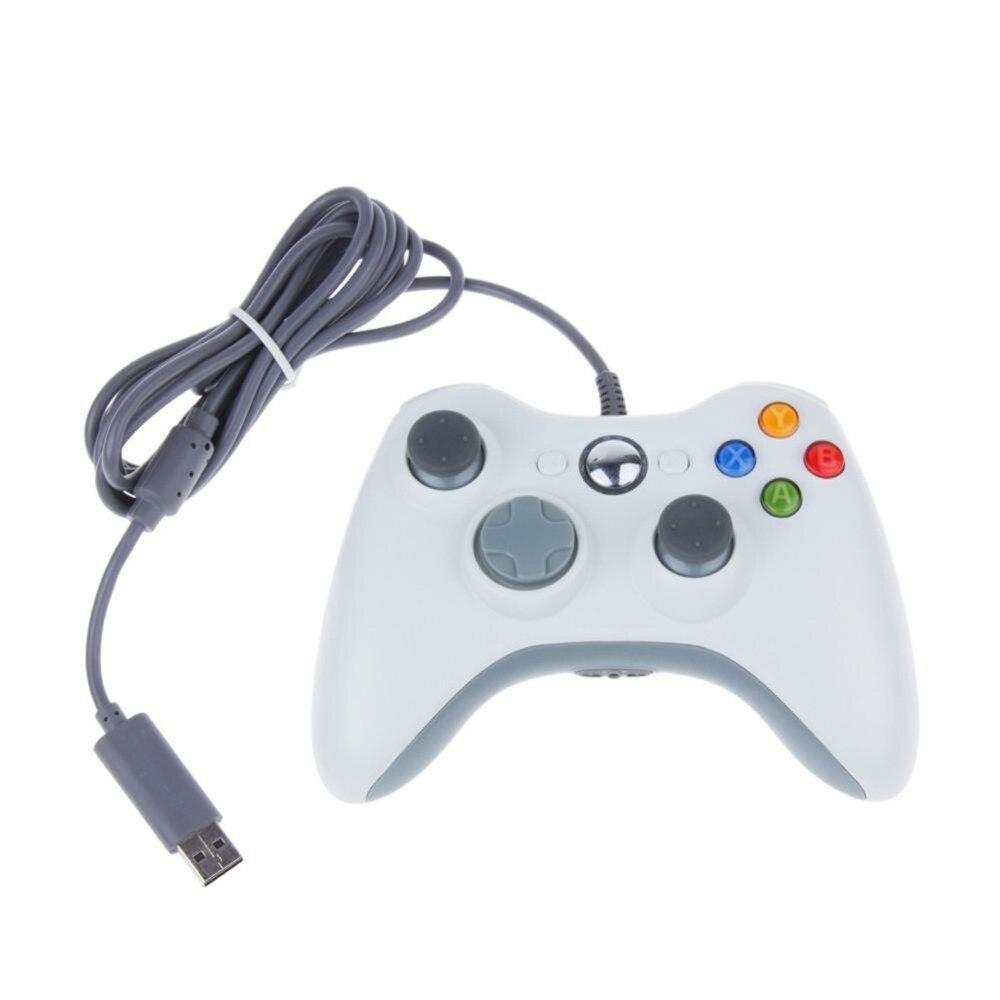 Геймпад GTIPPOR Проводной USB для Xbox 360, джойстик для официальных компьютеров Microsoft, контроллер для Windows 7, 8, 10