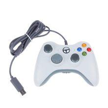 GTIPPOR-Mando con cable para Xbox 360, con puerto USB, para Microsoft PC, Windows 7, 8 y 10