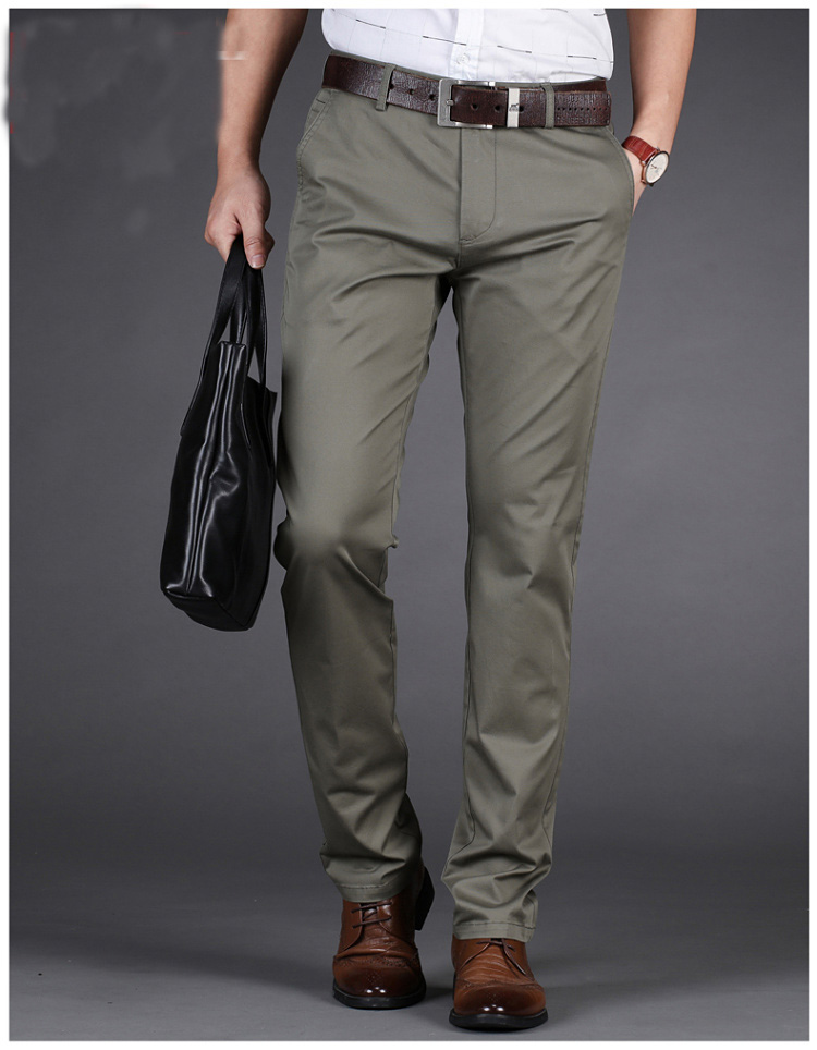 New  Tommi Slim Fit Homme Pants Stretch Trousers Men's High Quality Business Casual Clothes Formal Fashion Long Pants