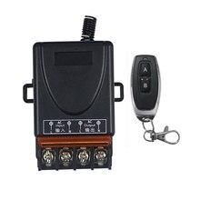 Ac 110v 220 v 1ch 1ch rádio controlador rf sem fio 30a relé interruptor de controle remoto 315 mhz 433 mhz transmissor + receptor