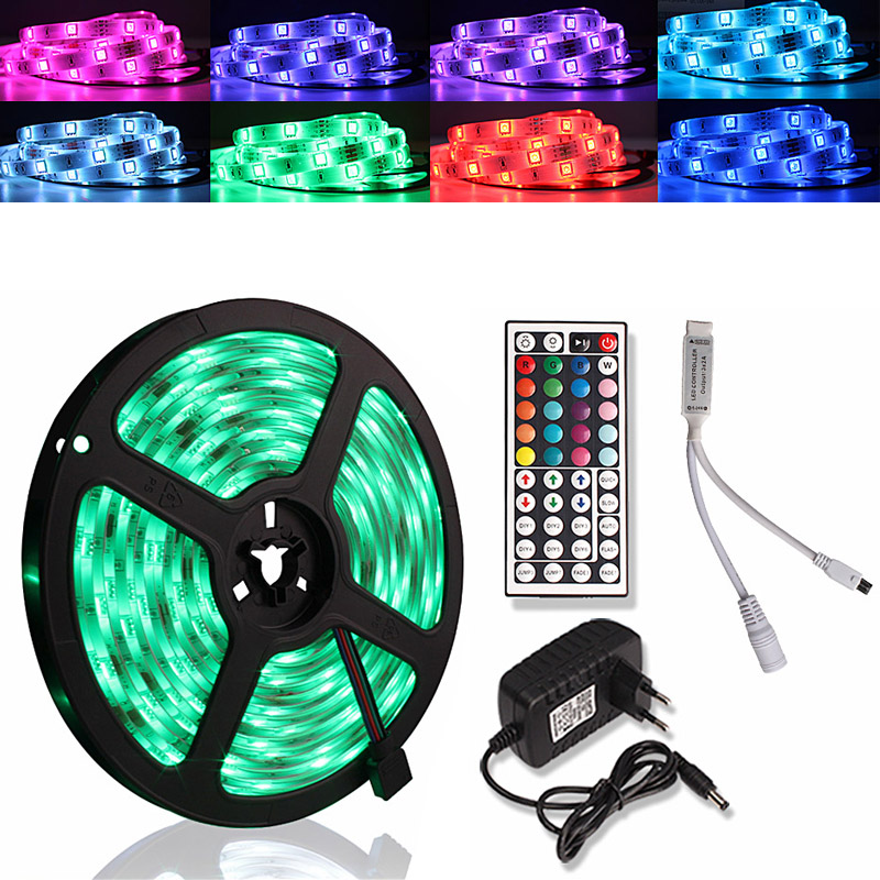12V DC Bluetooth LED Lamp Strip 2835 SMD RGB Tape LED Under Cabinet Light Living Room Bedroom Backlight Closet Kitchen Lighting