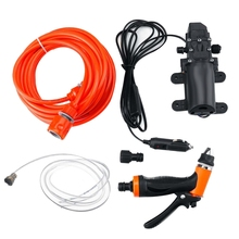 12V Car Washer-Gun Pump High Pressure Cleaner Car Care Portable Washing Machine Electric Cleaning Auto Device for Home, Garden,