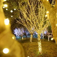 100/200/300 Led String Garland Christmas Tree Fairy Lights Outdoor Waterproof Home Garden Party Holiday Decoration