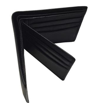 Men Brand Genuine Leather short Wallet Genuine Leather City Jogging Bags