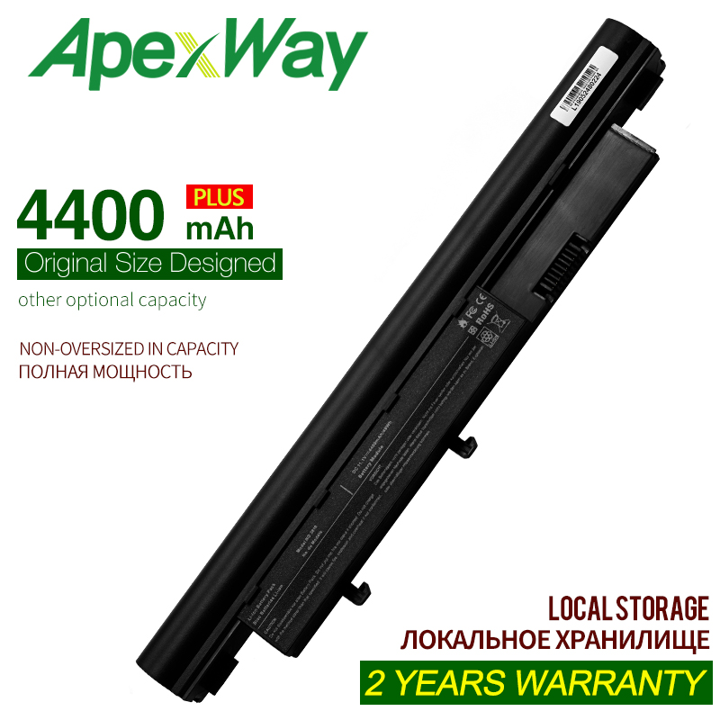 ApexWay 11.1v 6 Cell 4400mAh Laptop Battery For Acer Aspire 3810T 4810T 4810TG 5810T 5810 AS09D31 AS09D36 AS09D70 AS09D56
